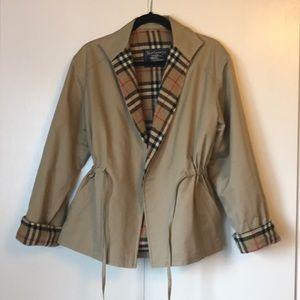 Burberry Prorsum vintage cinch-waist coat
